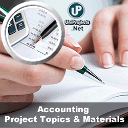 accounting topics to write about