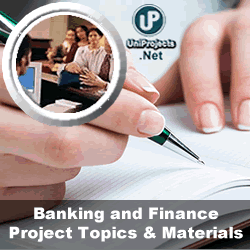 research proposal on banking and finance