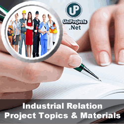 industrial relations project topics