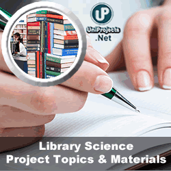 dissertation or thesis topics of library and information science