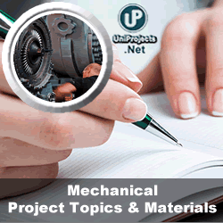 mechanical engineering thesis topics pdf